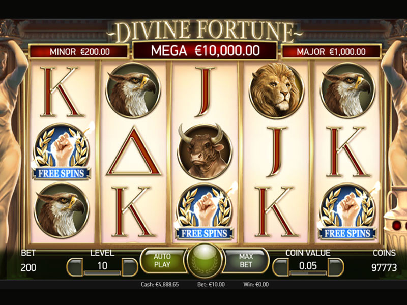 Divine Fortune Spielautomat Recension